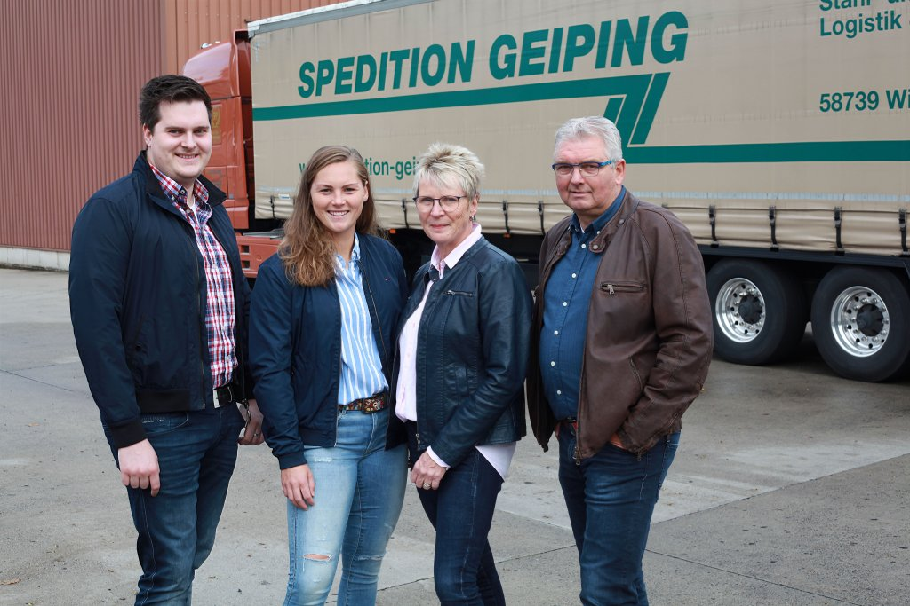 Spedition Geiping GmbH & Co.KG aus Wickede (Ruhr)